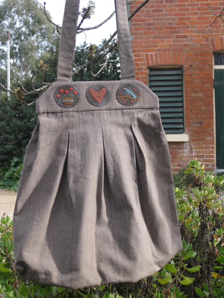 Bags & bits woolen bag