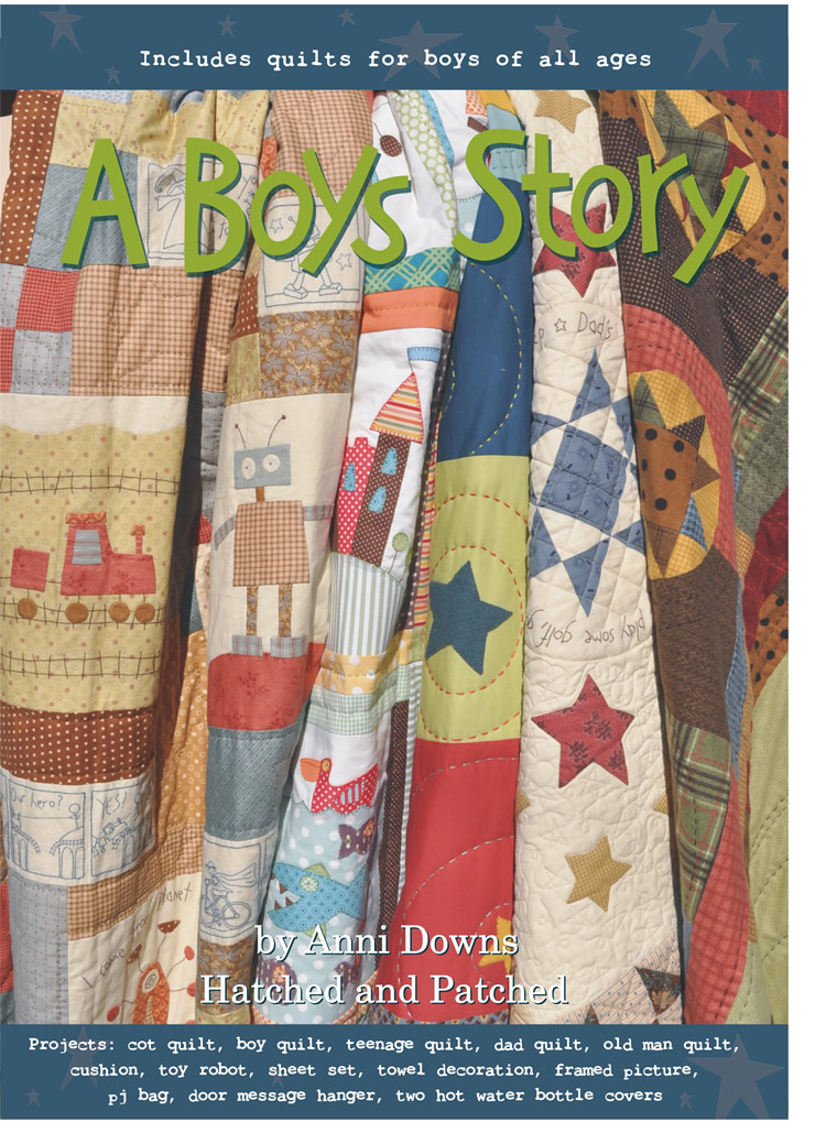 Boys story cover
