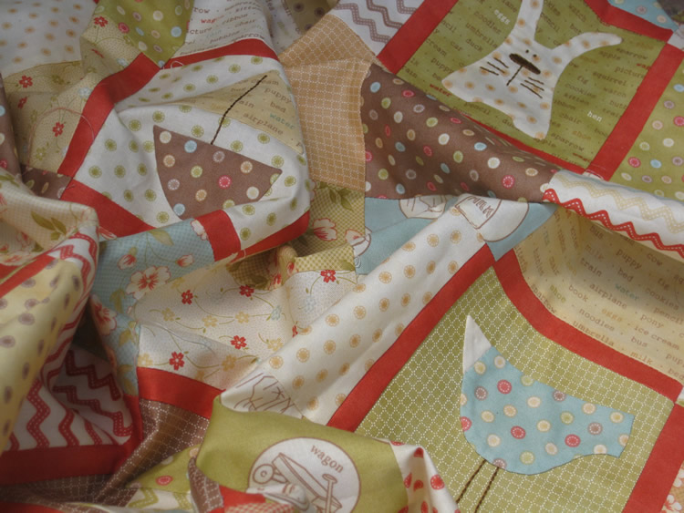 Baby quilt whimsy