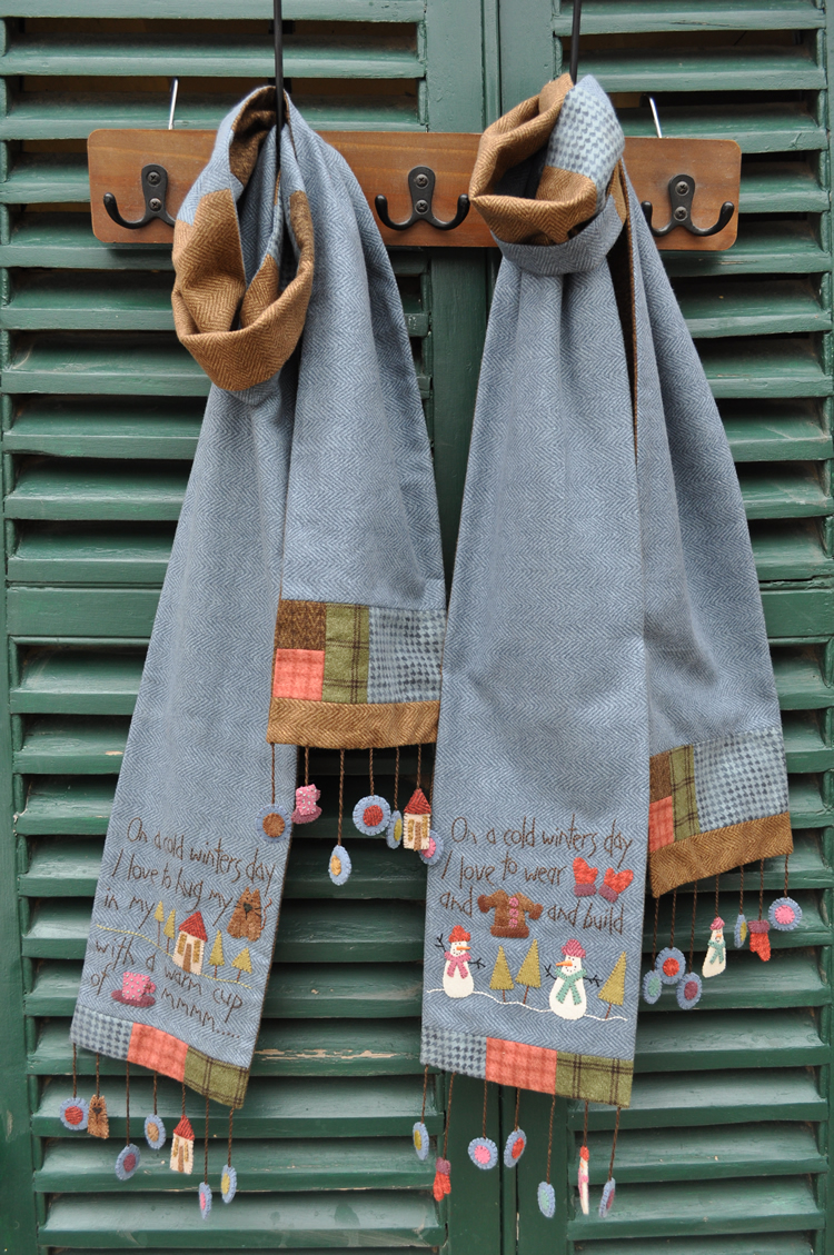 Cold winter scarves 1