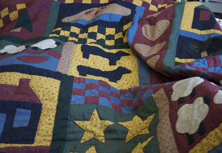 Old quilt 2
