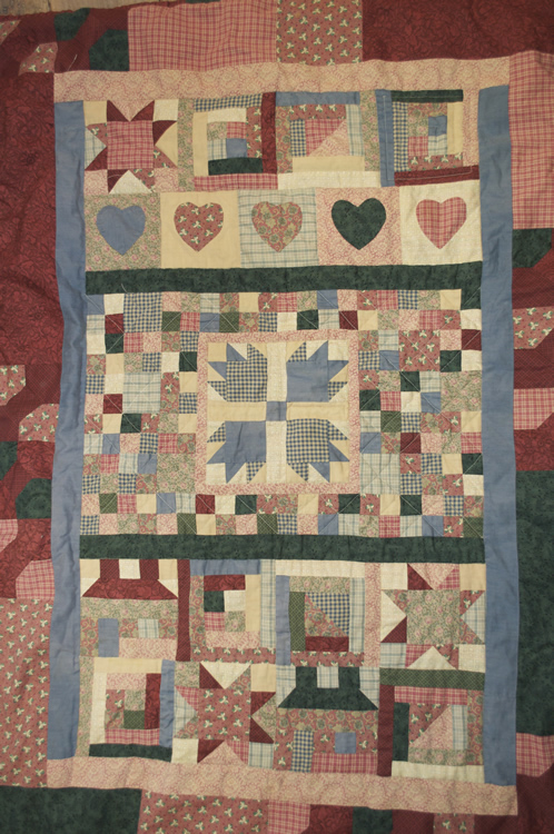 Old quilt 1