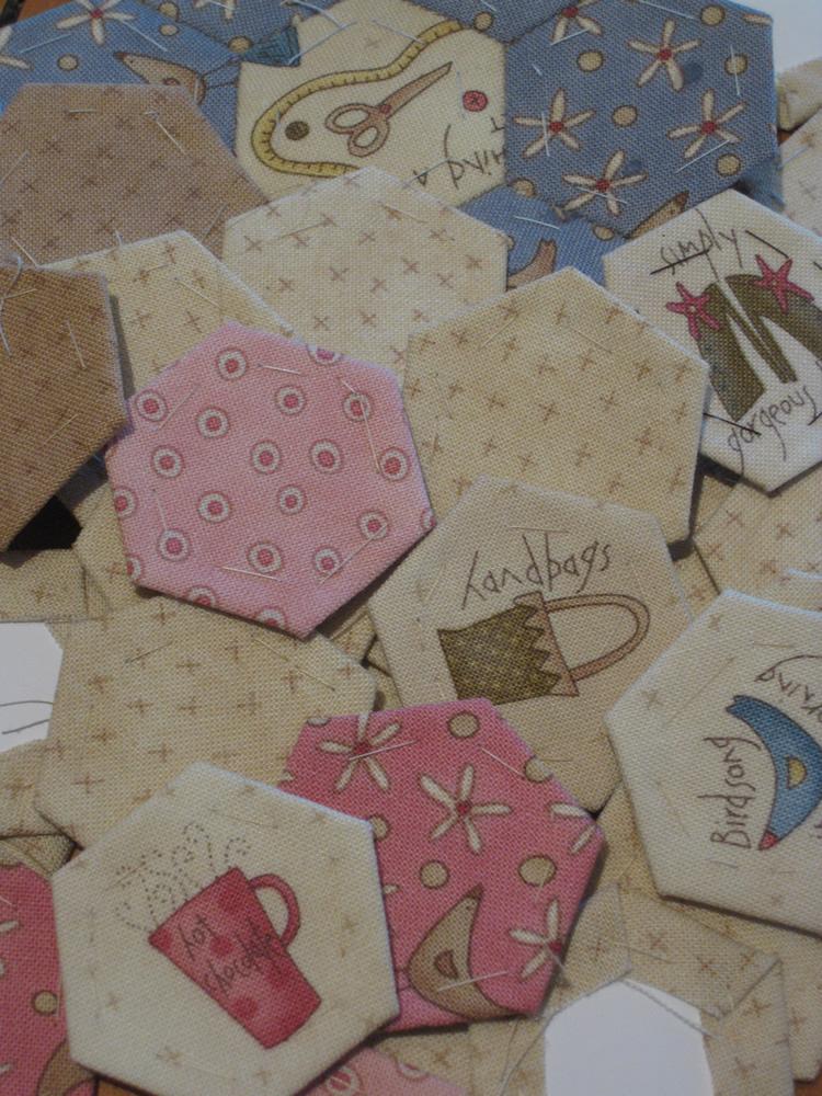 2011-5-my fabric hexagons
