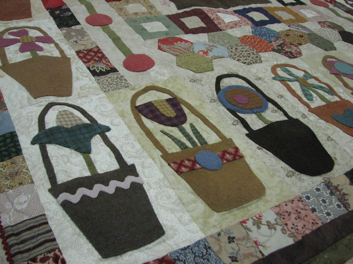 Pocket Of Posies Quilt Pattern.Hatched And Patched Nowra Retreat Part 2 One Crazy Night