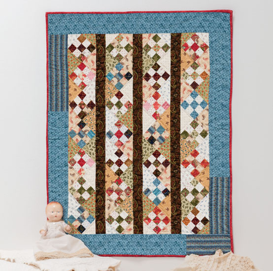 Days Gone By quilt by Little Quilts